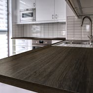Colonial Oak Rounded Edge Worktop