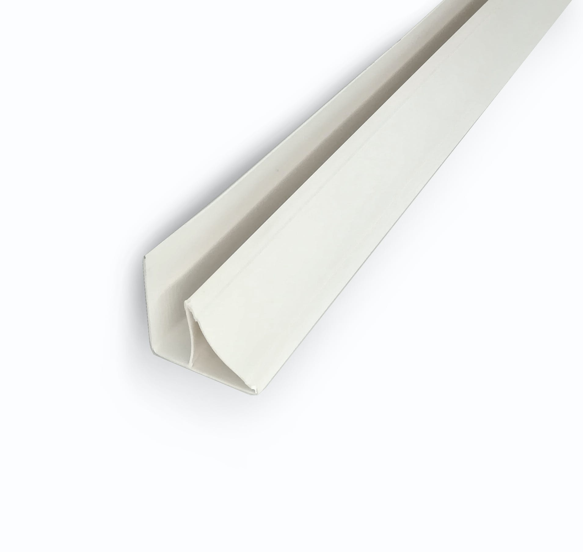 Ceiling Panel Coving Trim- White PVC