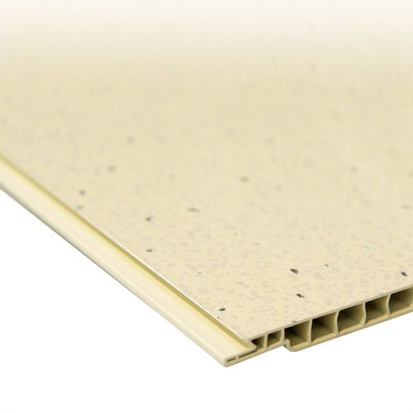Max-Fit Cream Sparkle PVC Shower Panel (2400mm x 1000mm x 10mm)