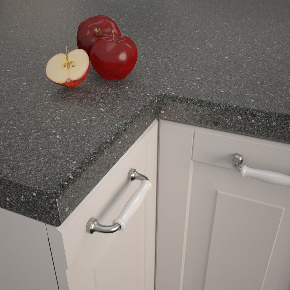 Axiom Black Fleck PP5013 CR Worktop (4100mm x 600mm x 40mm)