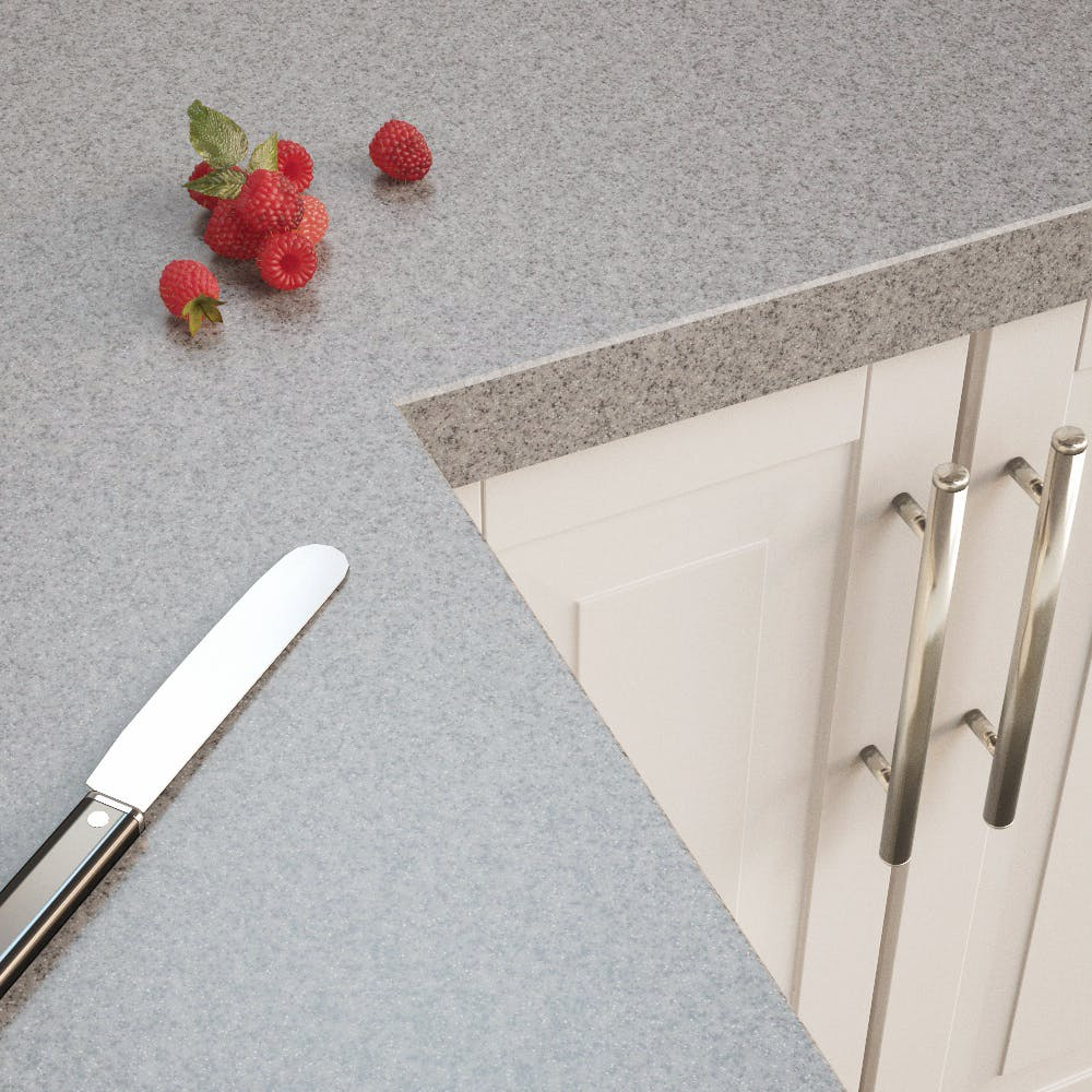 4100 x 600 x 38mm Getacore Frosted Dust Worktop