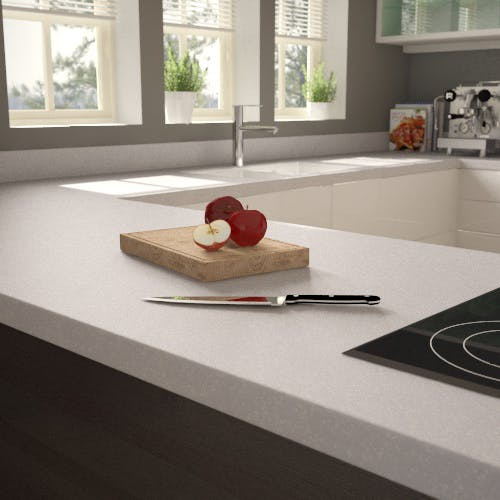 Getacore (solid surface) Miracle Rock Worktop Upstand