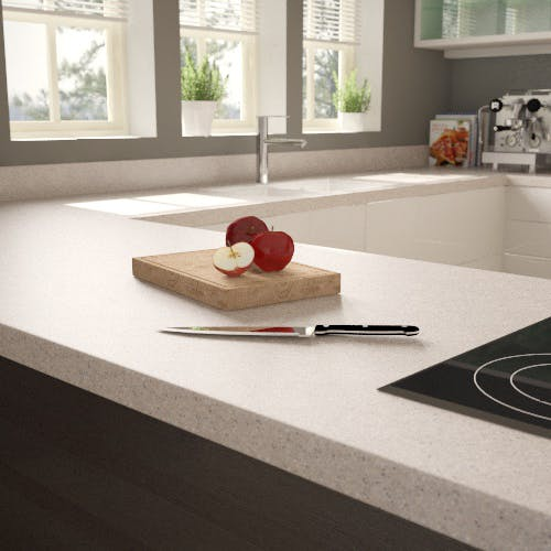 Getacore (solid surface) Breakfast Bar - Miracle Sand 2040 x 900 x 38mm