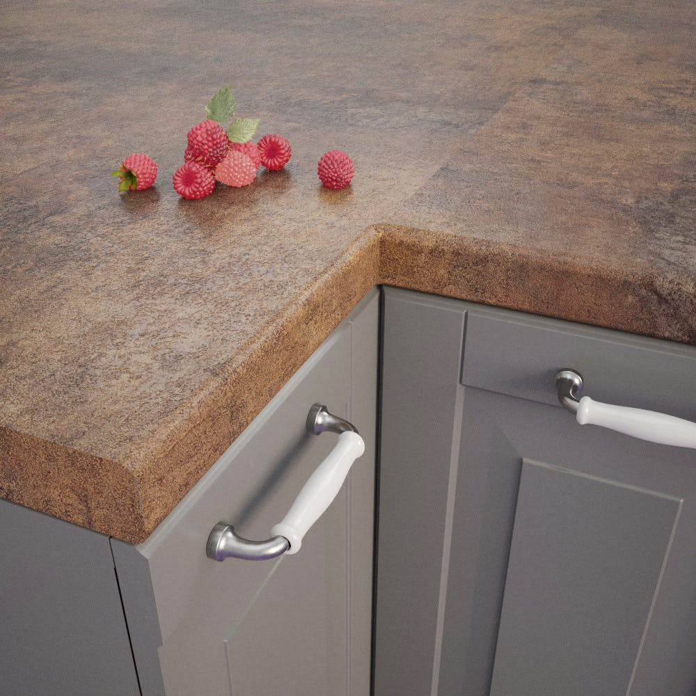 Getalit Campino Patina (H317 Ce) Bullnosed worktop (4100 x 600 x 39mm)