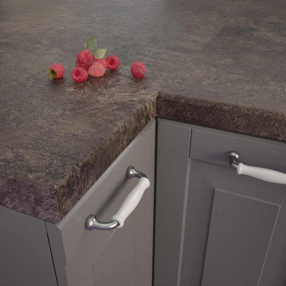 Pindos Slate (BT 750 SC) Bullnosed Worktop (4100mm x 600mm x 39mm)