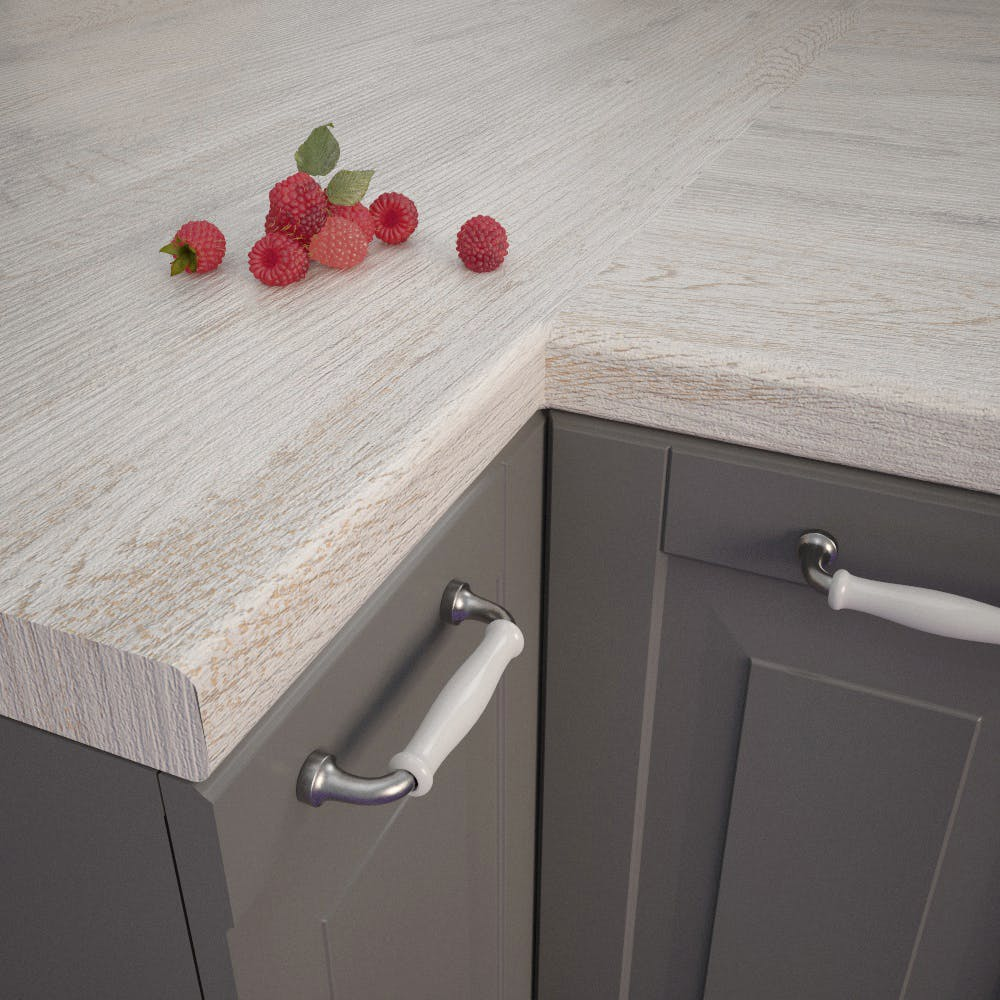 Getalit Provence Oak (EiV 227 Lo) Bullnosed Worktop (4100mm x 600mm x 39mm)