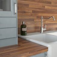 Nut Tree Butcherblock Dark (BBL 467 PoF) Splashback (4100 x 650 x 14mm)