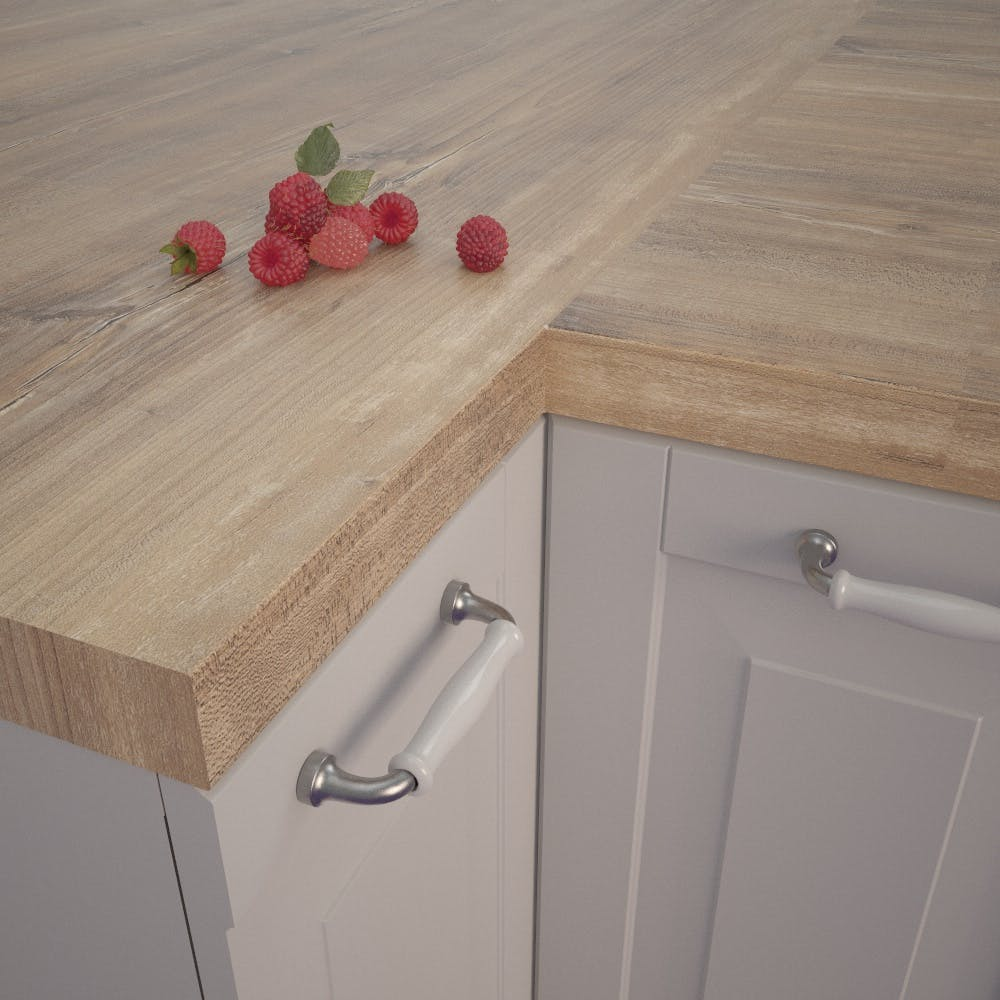 Getalit Atacama Cherry Tree (KBV 932 Si) Square Edged Worktop (4100mm x 650mm x 39mm)