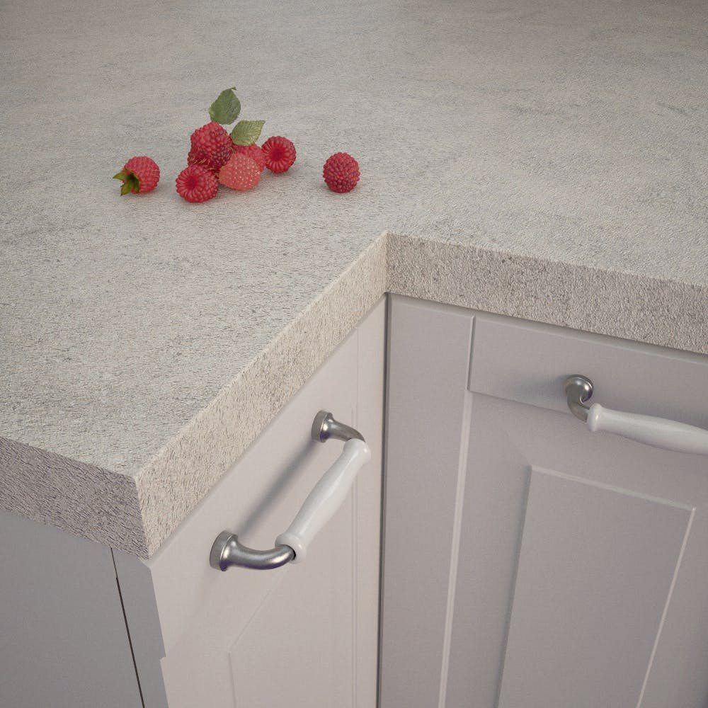 Getalit Baltic Chalkstone (KAS 430 Pat) Square Edged Worktop (4100mm x 650mm x 39mm)