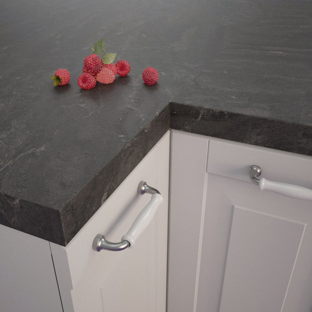 Getalit Bronze Black (BZ 173 Si) Square Edged Worktop (4100mm x 650mm x 39mm)