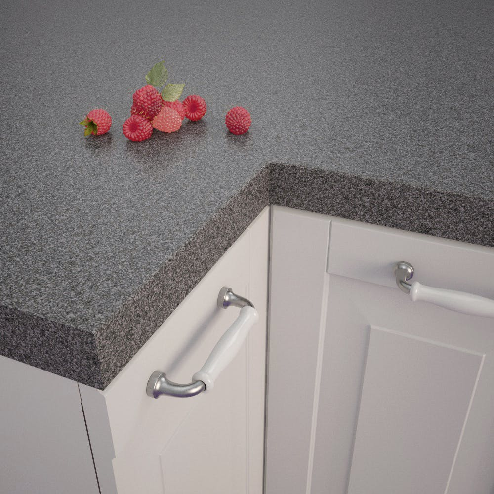 Multicolour Lava-Anthracite (RS 431 C) Square Edged Worktop (4100mm x 650mm x 39mm)