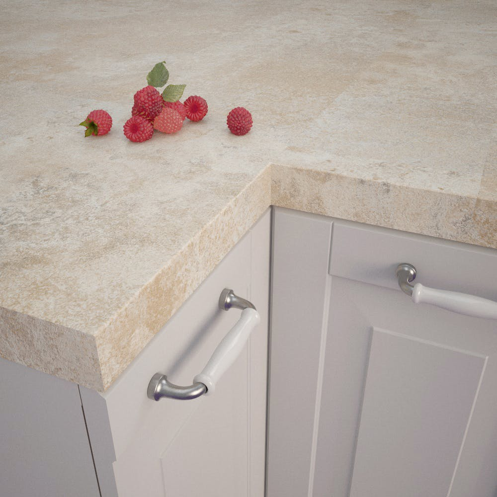 Getalit Jura Chalk Beige (JK 372 Ce) Square Edged Worktop (4100mm x 650mm x 39mm)
