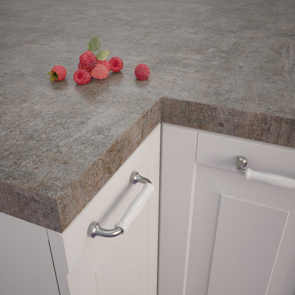 Getalit Metal Veriscolour (ME 873 Ce) Square Edged Worktop (4100mm x 650mm x 39mm)