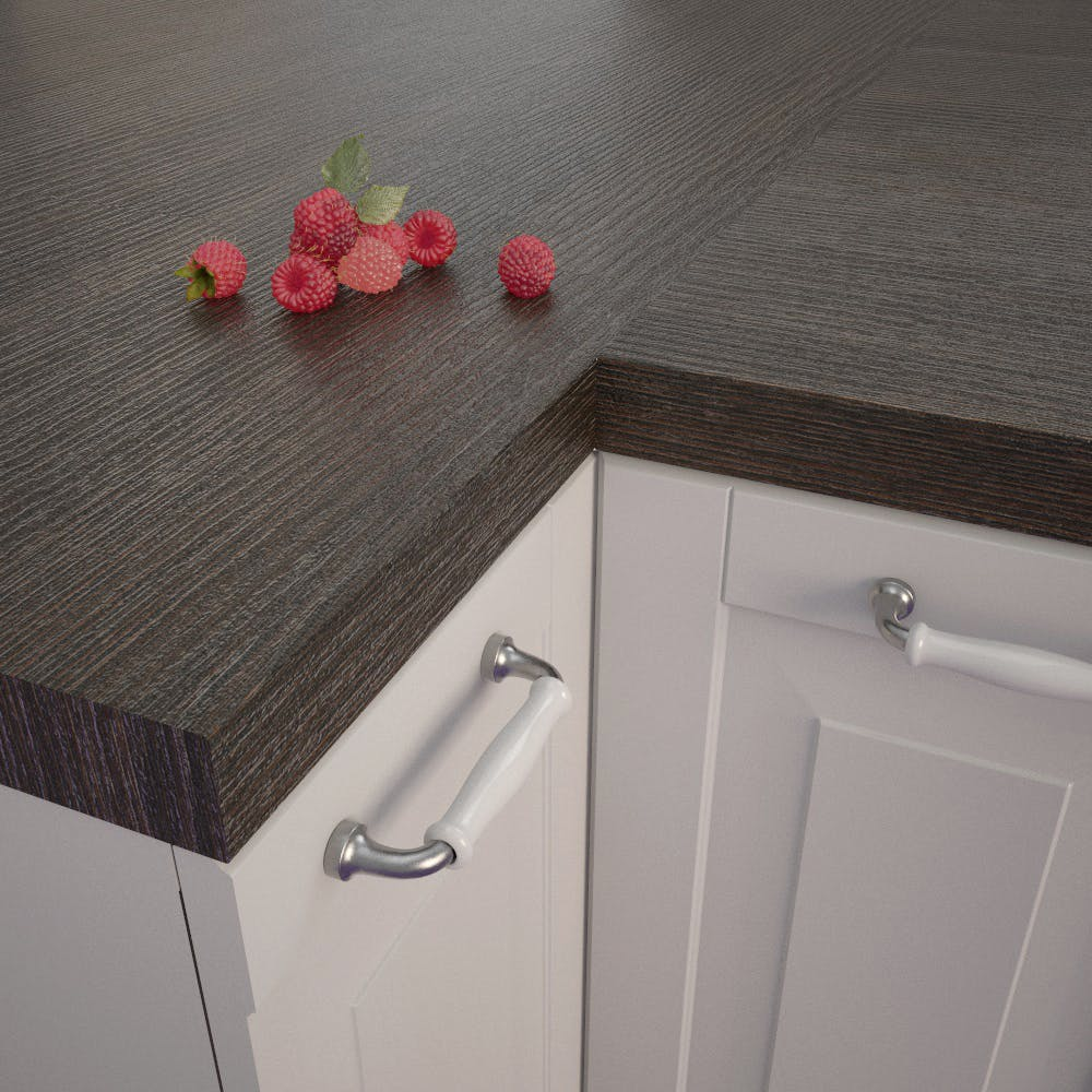 Getalit Moor Oak (MEi 170 In) Square Edged Worktop (4100mm x 650mm x 39mm)
