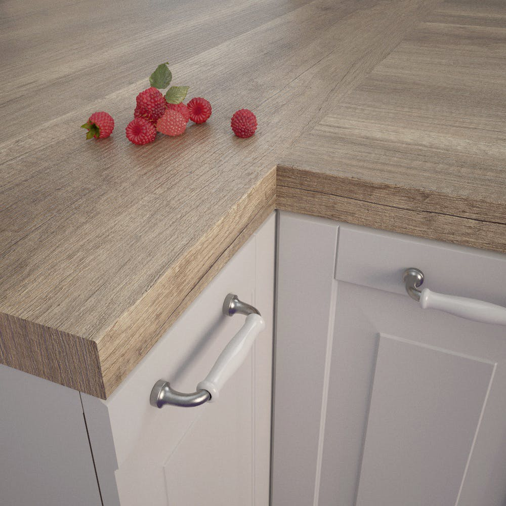 Getalit Wind Oak Beige (EiV 341 Lo) Square Edged Worktop (4100mm x 650mm x 39mm)