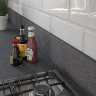 Multicolour Lava-Anthracite (RS 431 C) Upstand (4100 x 150 x 14mm)