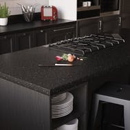 New Black Granite Matt Breakfast Bar (3000mm x 900mm x 38mm)