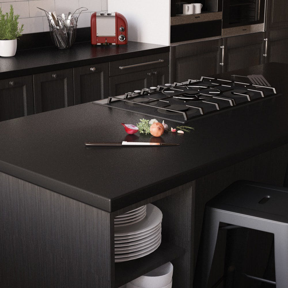 New Noir Essence Breakfast Bar (3000mm x 900m x 38mm)
