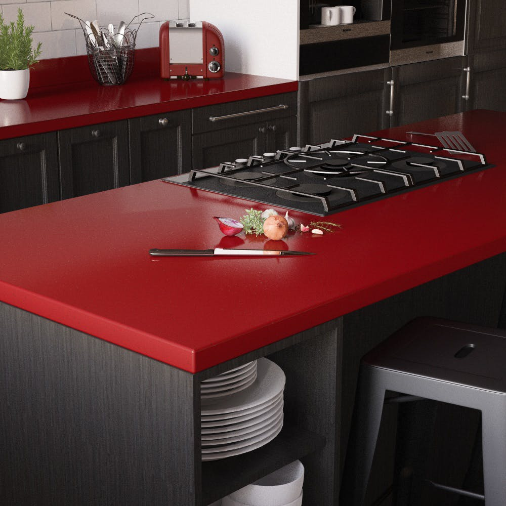 Rouge Sparkle Breakfast Bar (3600mm x 900mm x 38mm)