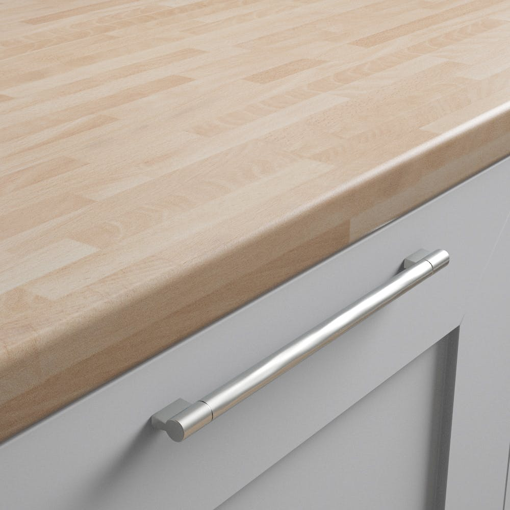 Beech Butchers Block Worktop (3600mm x 600mm x38mm)