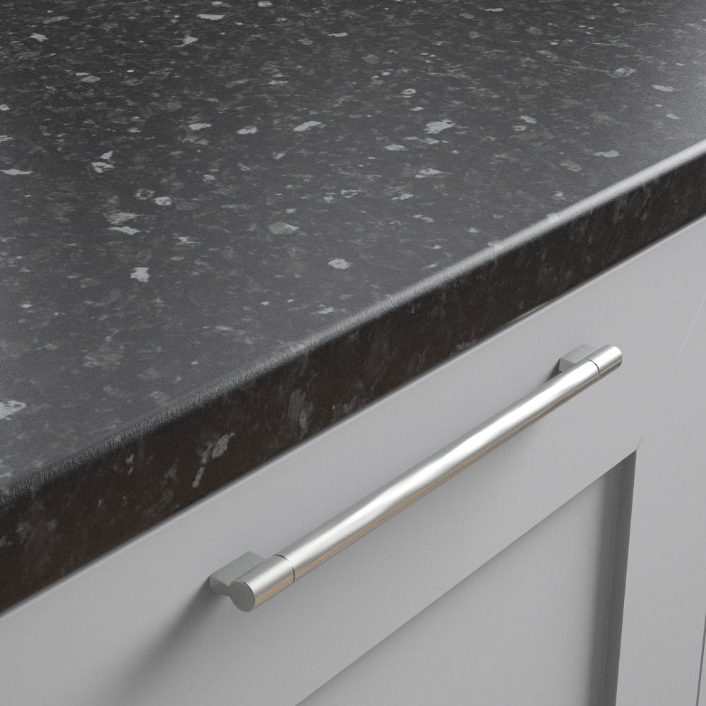 New Black Granite (Matt texture) Worktop (3600mm x 600m x 38mm)