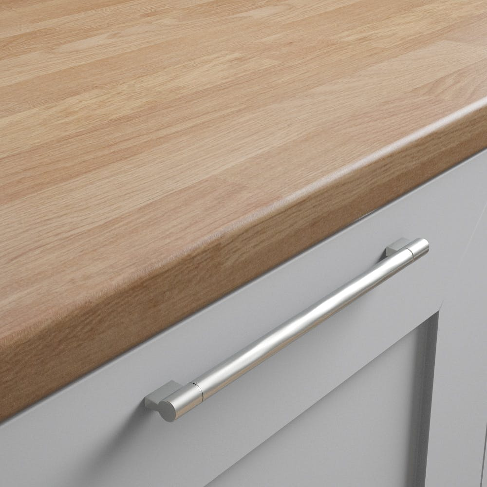 Oak Butchers Block Worktop (3600mm x 600mm x38mm)
