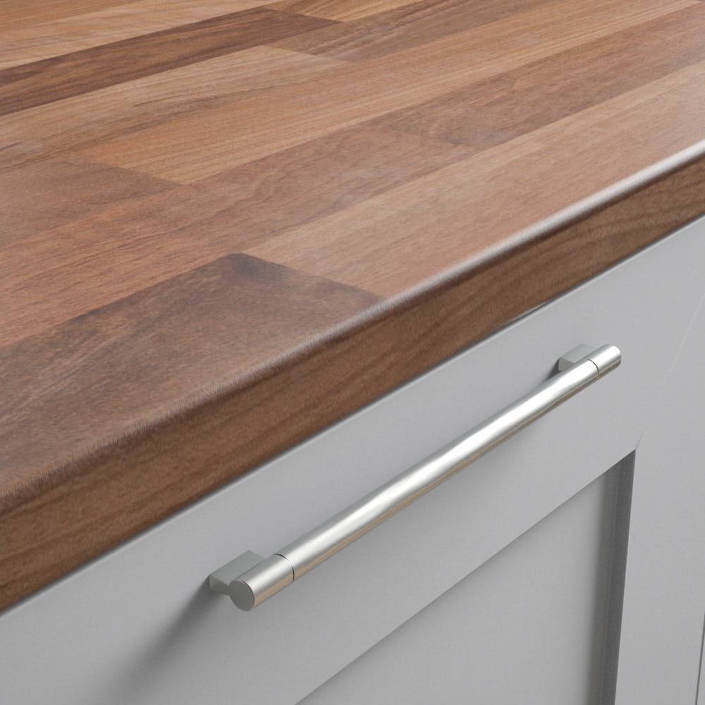 New Walnut Butchers Block Worktop (3600mm x 600mm x 38mm)