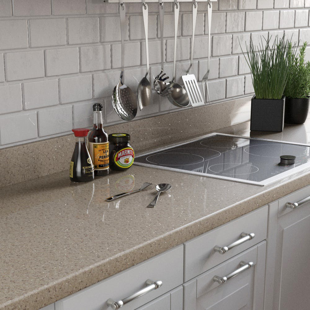 Navada Sparkle Upstand (3000mm x 100mm x 20mm)
