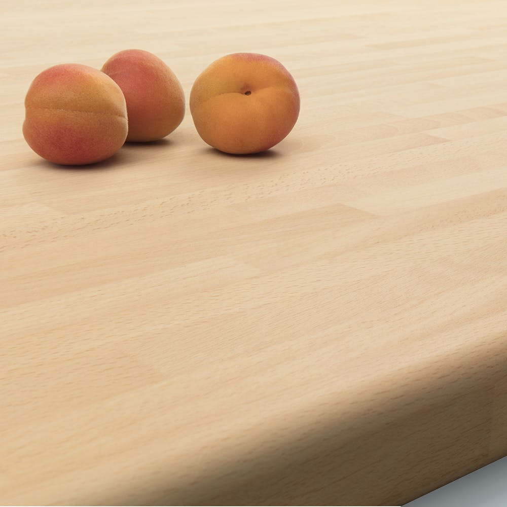Block Beech (Matt) Worktop 3000mm x 600mm x 38mm