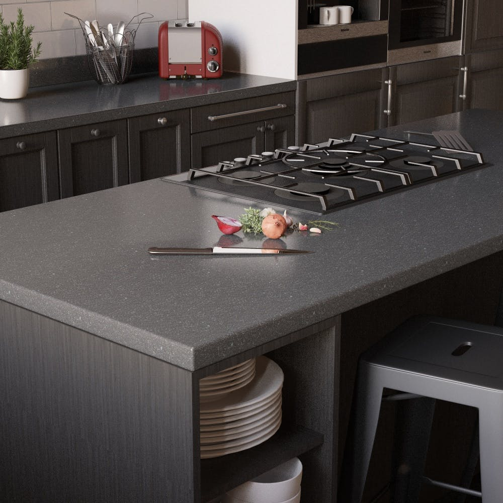 New Graphite Sparkle Breakfast Bar (3000mm x 900m x 38mm)