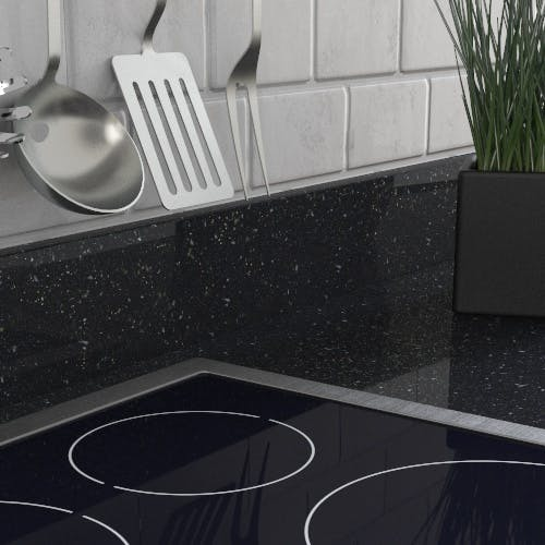 New Noir Sparkle Upstand (3000mm x 100mm x 20mm)
