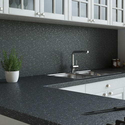 New Noir Essence (Textured) Splashback (3000mm x 1200mm x 11mm)