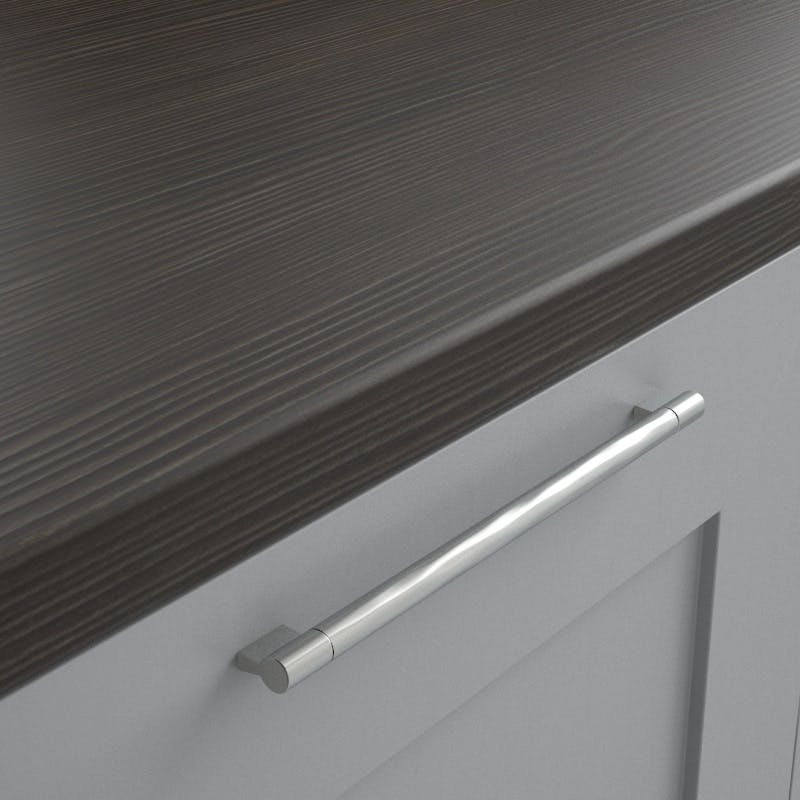Avola Grey Woodgrain Textured Worktop (3600mm x 600mm x 38mm)
