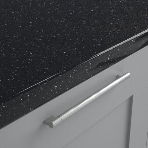 New Noir Sparkle Black Worktop (3600mm x 600mm x38mm)