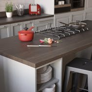 Avola Grey Woodgrain Textured Breakfast Bar (3000mm x 900mm x 38mm)
