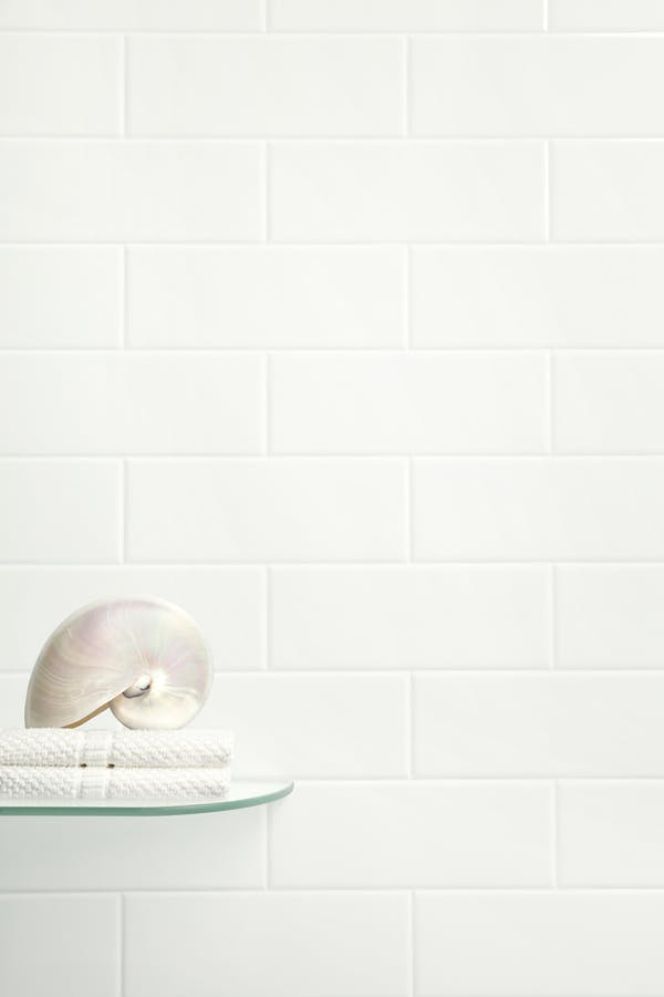 White Brick Tile Panel (2420mm x 1220mm x 3mm)