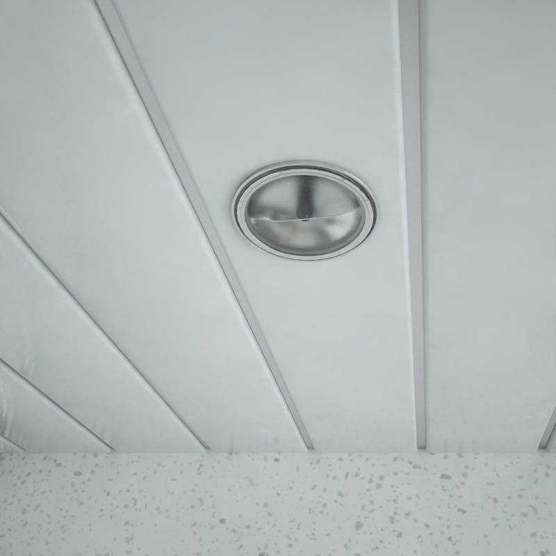 Double White Ceiling Panel (4000mm pack)