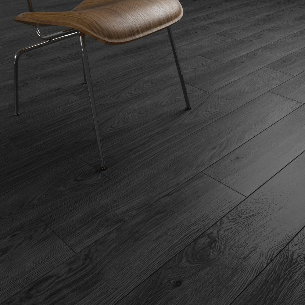 Clixeal Smoked Ash plank effect click vinyl flooring.  1.75 square metres (8 Planks per box)