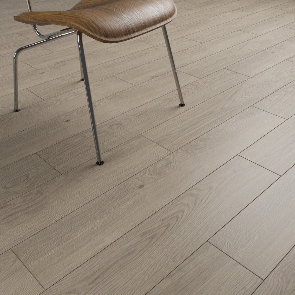 Clixeal Natural Oak plank effect click vinyl flooring.  1.75 square metres (8 Planks per box)